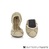 BUTTERFLY TWISTS -SIENNA 可折疊扭轉芭蕾舞鞋-氣質粉
