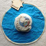 DF Queenin - 有機全棉寶寶哺乳帽-共3色