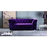 Bernice - 迎賓椅-雙人沙發  (兩色可選)