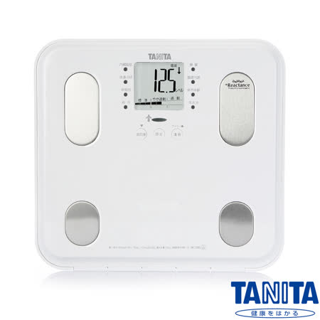 日本TANITA 九合一體組成計 BC565 - 鏡面雪白