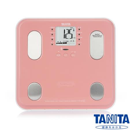 日本TANITA 九合一體組成計 BC565 - 鏡面櫻粉