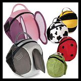DF Queenin - 可愛動物造型連帽後背防走失包-共7款