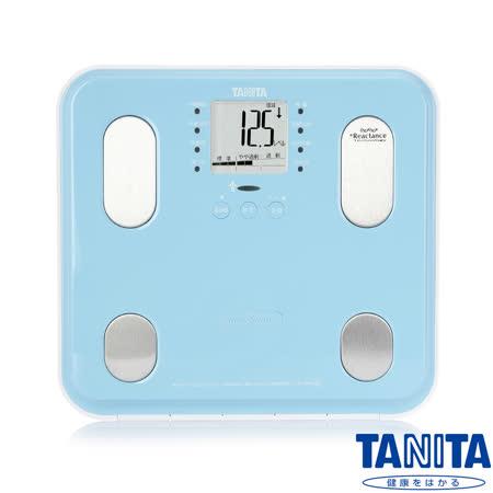 日本TANITA 九合一體組成計BC565-鏡面天藍