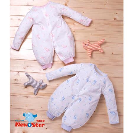 【聖哥-明日之星】薄-嬰兒兩用兔衣(吸溼排汗、長袖長褲、全釦)二色、三尺碼可選