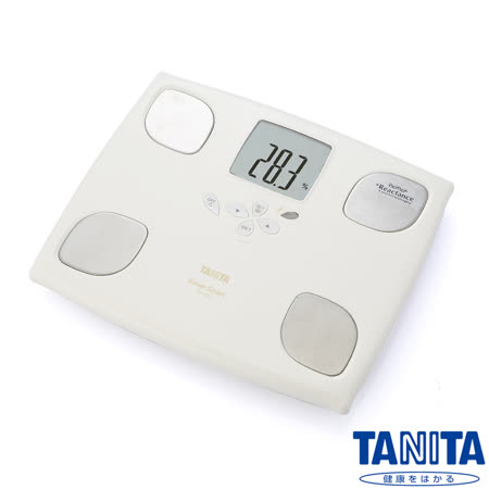 日本TANITA 十合一女性減重模式體組成計 BC750 - 珍珠白