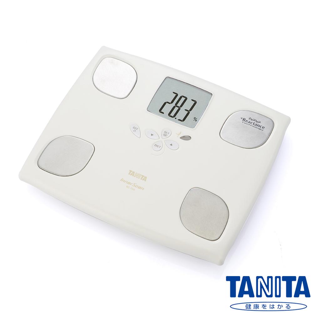 日本TAN遠東 happy goITA十合一女性減重模式體組成計BC750-珍珠白