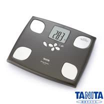 日本TANITA十合一女性減重模式體組成計BC750-木棕色