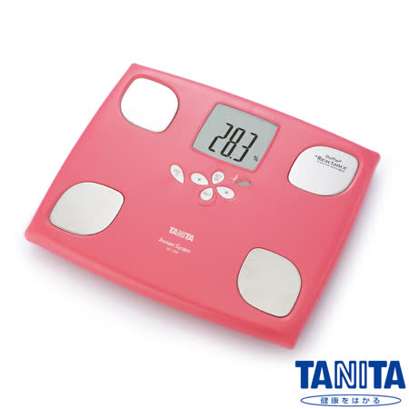日本TANITA十合一女性減重模式體組成計BC750-玫瑰紅