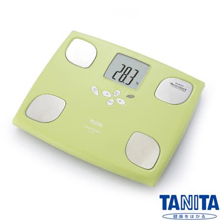 日本TANITA十合一女性減重模式體組成計BC750-蘋果綠