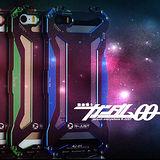 R-JUST變形金剛iPhone 5/5S雙色鋁合金抗摔保護殼