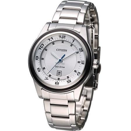 星辰 CITIZEN Eco-Drive 日系百搭時尚腕錶 FE1094-65A
