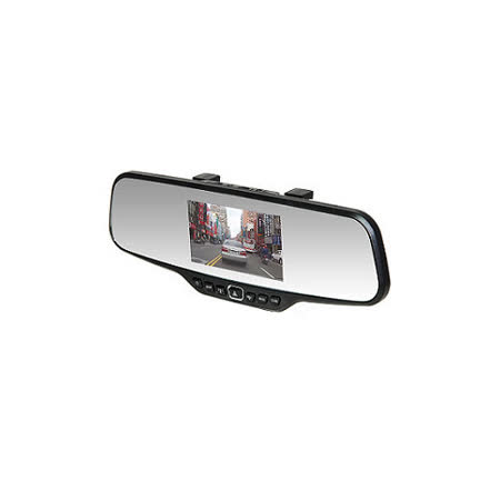 發現者 X6+ Plus 後視鏡高畫質1080P行車記錄器 (送8G Class10記憶卡)