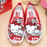【童鞋城堡】Hellokitty40週年紀念限量女童帆布鞋714752