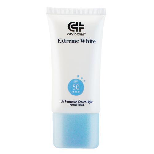 即期品 GLY DERM果蕾 極白光勻亮高效輕透防護霜SPF50^(自然潤色型^) 30m