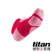 Titan功能慢跑裸襪-[桃紅/粉紅]