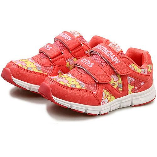 【Hostingbaby小寶當家】X0162西瓜紅童鞋男童2014新款網面兒童運動鞋女童運動鞋春秋透氣防滑