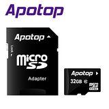APOTOP 32GB MicroSDHC Class10記憶卡 (附SD轉卡)-5入組