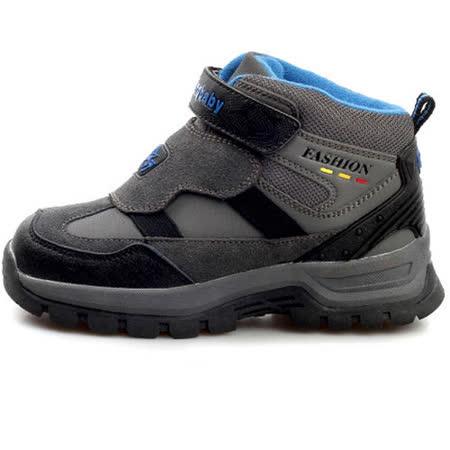 【Hostingbaby小寶當家】X2262黑寶藍童鞋男童棉鞋2013新款冬季兒童棉鞋保暖加絨戶外雪地鞋子