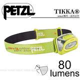 【法國Petzl】TIKKA 頭燈(80流明)/CLASSIC 經典入門款_黃 E93HY