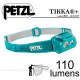 【法國Petzl】TIKKA+ 頭燈(110流明)/ACTIVE 多功能進階款_綠松石 E97HT