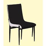 Jessica皮質餐椅497-3(黑)