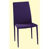 Calvin灰布餐椅498-5(紫)