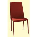 Calvin灰布餐椅498-6(橘)