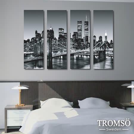 TROMSO時尚無框畫/紐約鐵橋