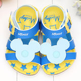 【童鞋城堡】迪士尼米奇造型男童勃肯涼鞋44013802