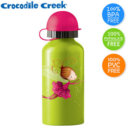 【美國Crocodile Creek】兒童不鏽鋼水瓶-小仙女