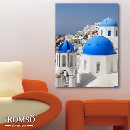TROMSO時尚無框畫/希臘美景