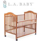 L.A. Baby 米爾頓嬰兒大床咖啡色