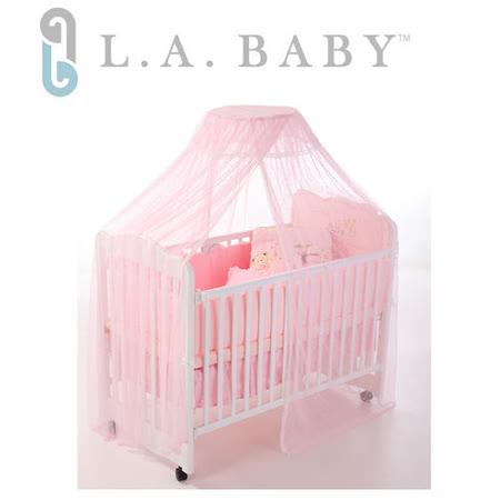 L.A. Baby豪華全罩式嬰兒床蚊帳(加大加長型)共四色