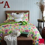 La Mode寢飾仙履奇緣100%精梳棉被套床包組(雙人)