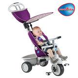 「 英國 smarTrike 史崔克 」 豪華時尚嬰幼4合1多機能三輪車(雅典紫)