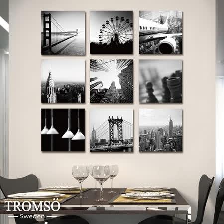 TROMSO時尚無框畫/環遊城市
