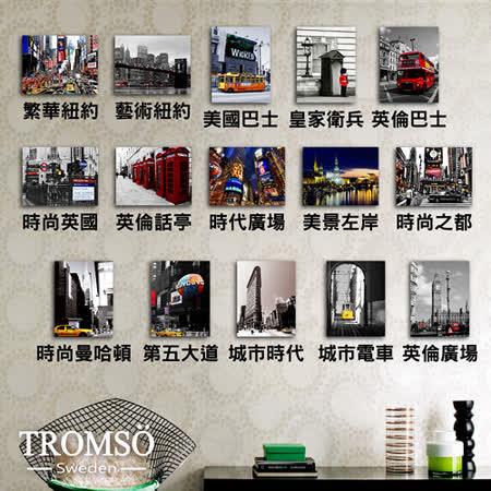 TROMSO時尚無框畫/世界之旅單幅-20X25cm