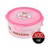 任選__樂扣樂扣HELLO KITTY微波保鮮盒-圓形600ML(HPL933-KT)