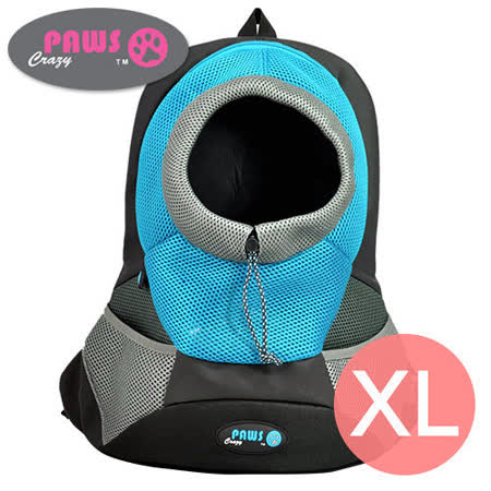 【好物分享】gohappy快樂購物網【crazypaws 瘋狂爪子】運動風寵物雙肩背包 XL推薦天母 百貨 公司
