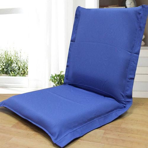 KOTAS~荷葉邊和室椅~簡約藍