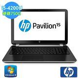 HP Pavilion 15-n252TX i5-4200U 15.6吋獨顯筆電