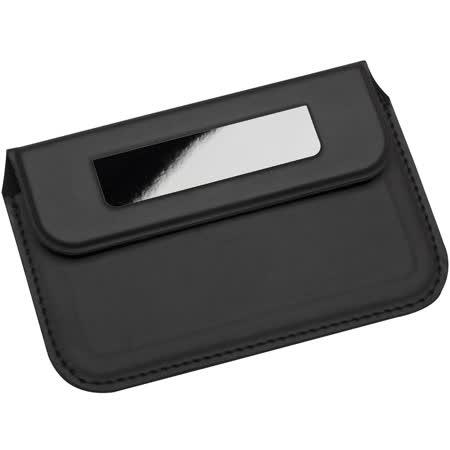 《REFLECTS》業務軟性名片盒(黑)