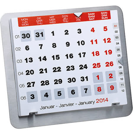 《REFLECTS》簡約月曆