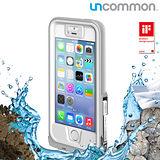 Uncommon iPhone5/5S Safety 防水保護殼 -符合軍規IP68 (防水、防雪、防摔) - 灰白色