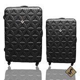 Miyoko 限定時尚花系列➢經典兩件組輕硬殼行李箱28+20吋