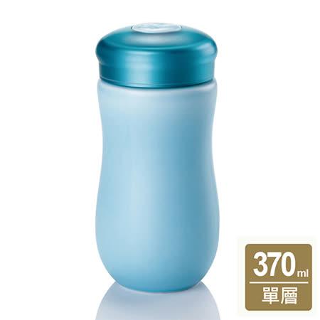 乾唐軒活瓷甜心隨身杯( 中 / 單層 /淺水藍)