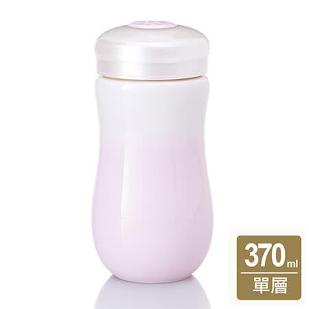 乾唐軒活瓷‧甜心隨身杯( 中 / 單層 /白粉紅漸層)