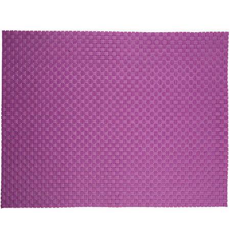 《ZONE》十字編織餐墊(紫)