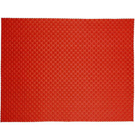 《ZONE》十字編織餐墊(紅)
