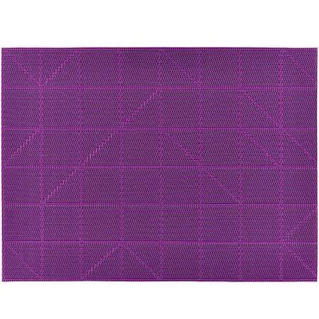 《ZONE》棋盤餐墊(紫)